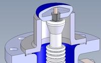 Emaillierter Kegel mit integriertem Sensor