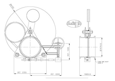 Cam Goggle Valve Drawing